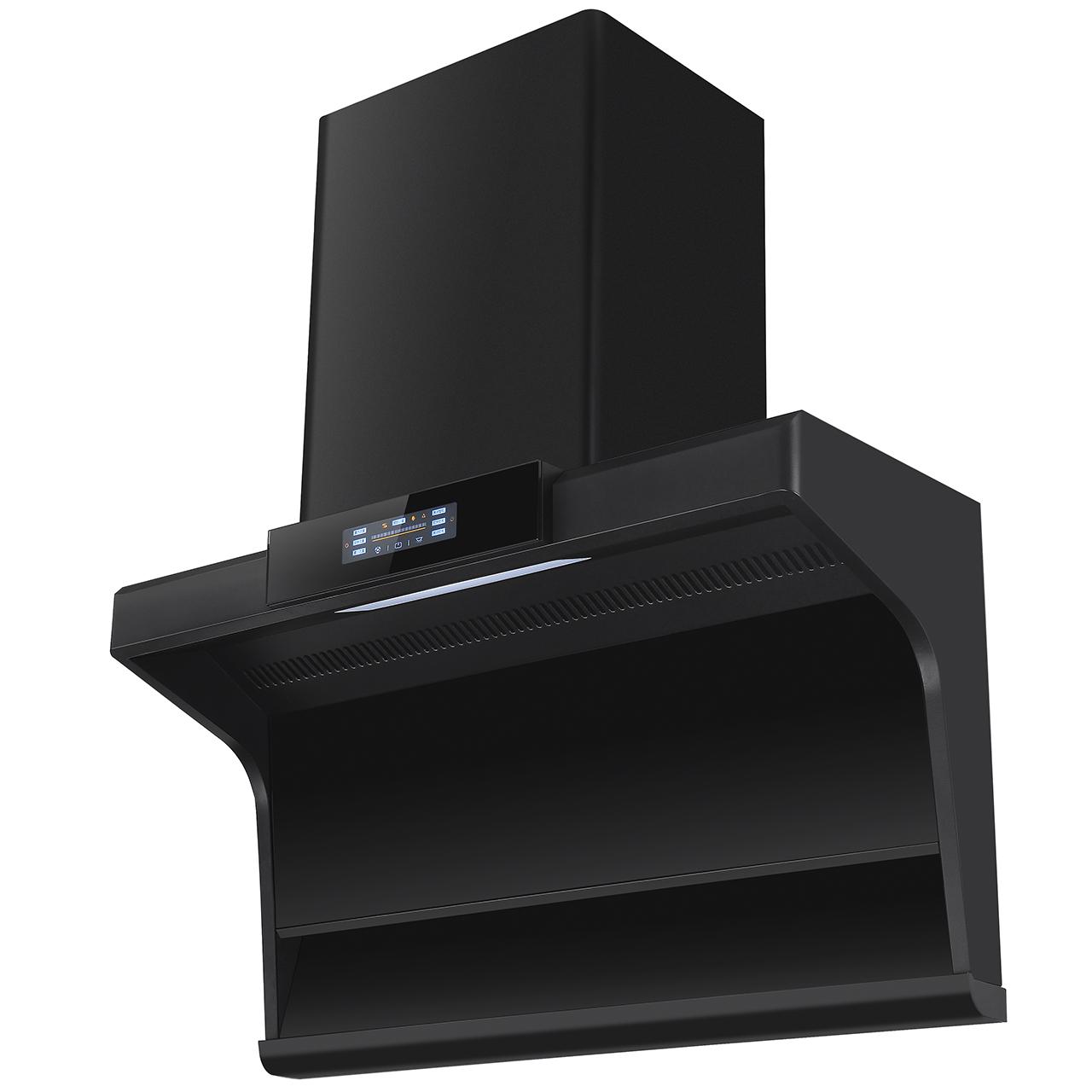 088A1喷涂黑高档厨房烟机,七字型厨房烟机
