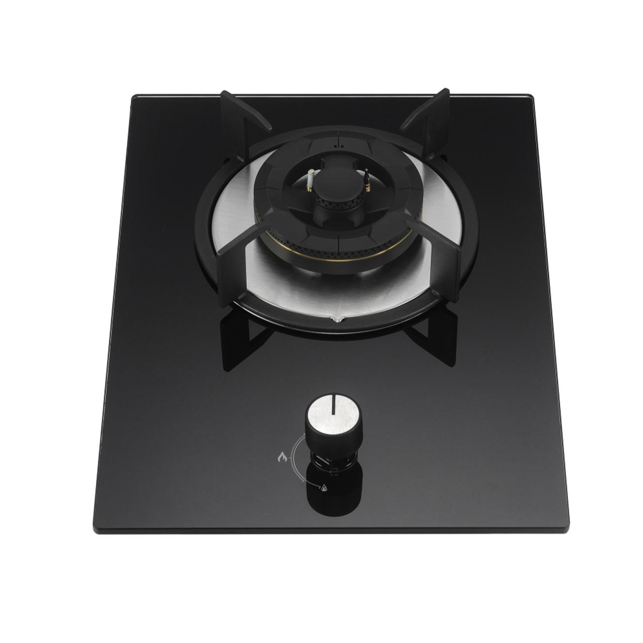 K2-Q1G010W黑色全进风厨房家用灶具