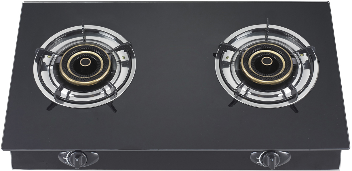 K2-T2G002W台式玻璃燃气炉具,玻璃灶具